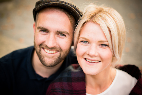 Couple portrait in Llangollen for a portrait photoshoot with Celynnen Photography