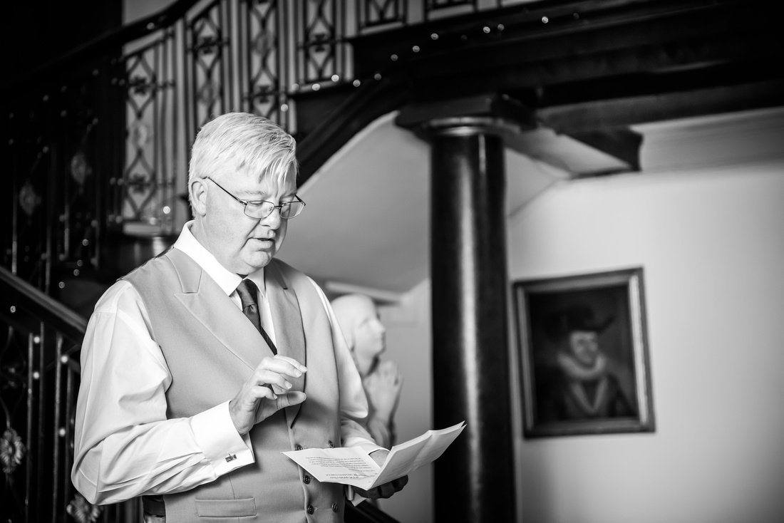 a speech from the bride's family member