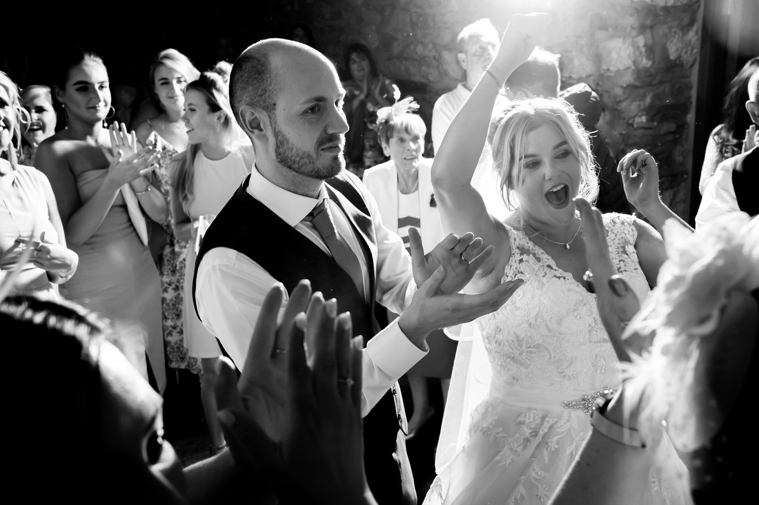 Keegan and Andrew's Wedding at Plas Isaf with Celynnen Photography