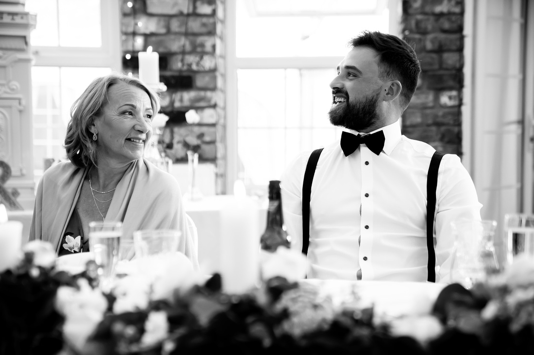 Rachel and Karl's Wedding at Meifod Country House with Celynnen Photography
