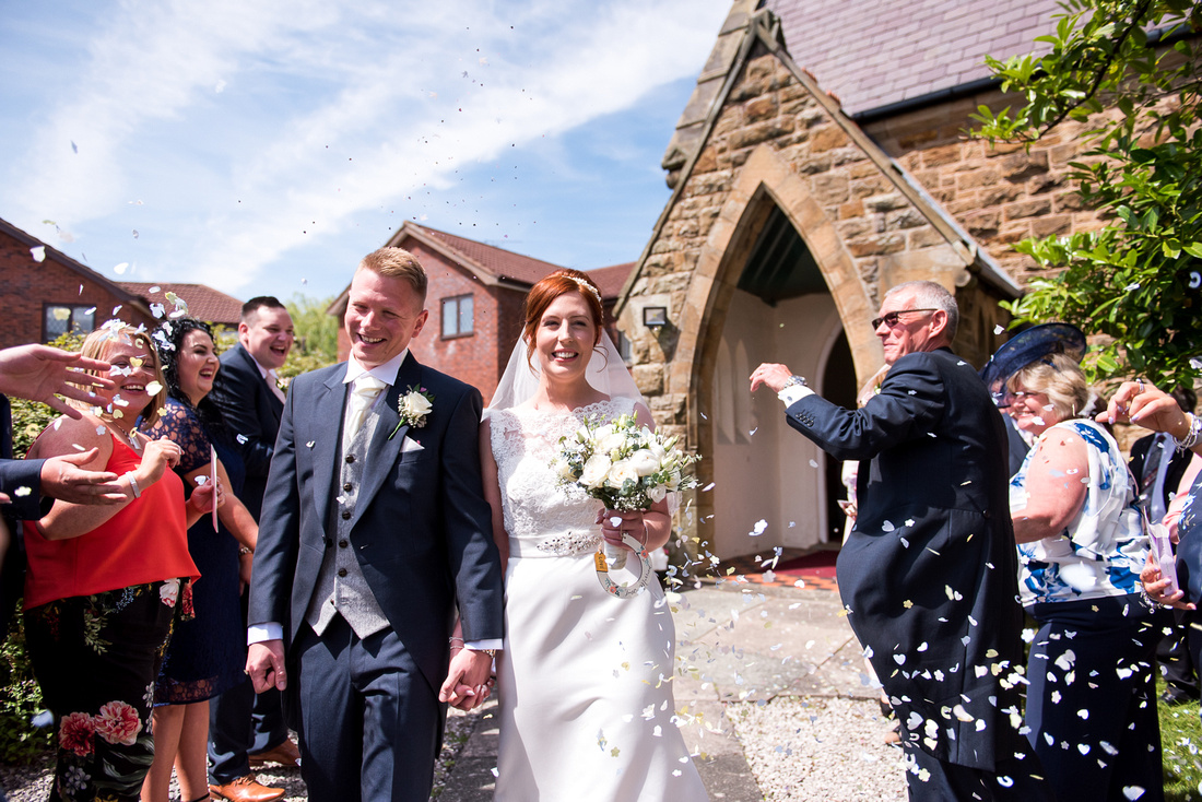 Laura and Mike's Wedding at Soughton Hall