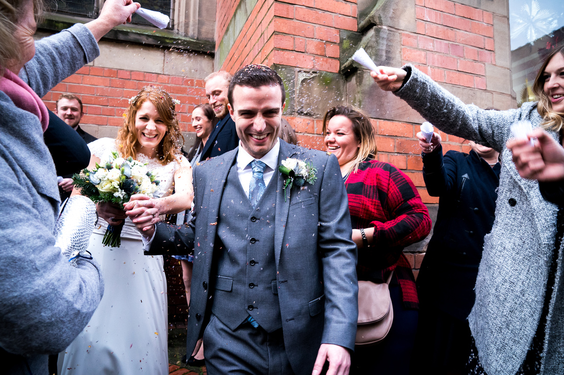 Laura and Ed's Winter Wedding at Nunsmere Hall, with Celynnen Photography