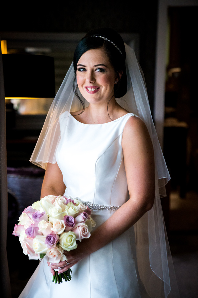 Gemma and Jonny's Wedding at The Grosvenor Pulford Hotel with Celynnen Photography
