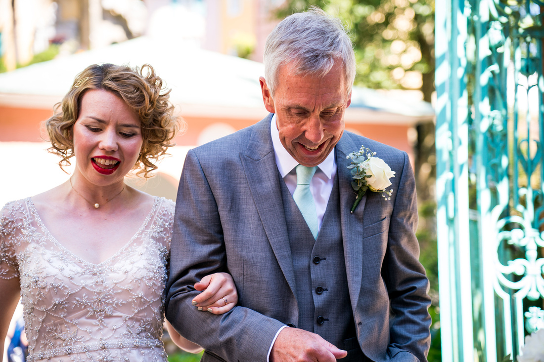 Laura and Richard's Wedding with Celynnen Photography