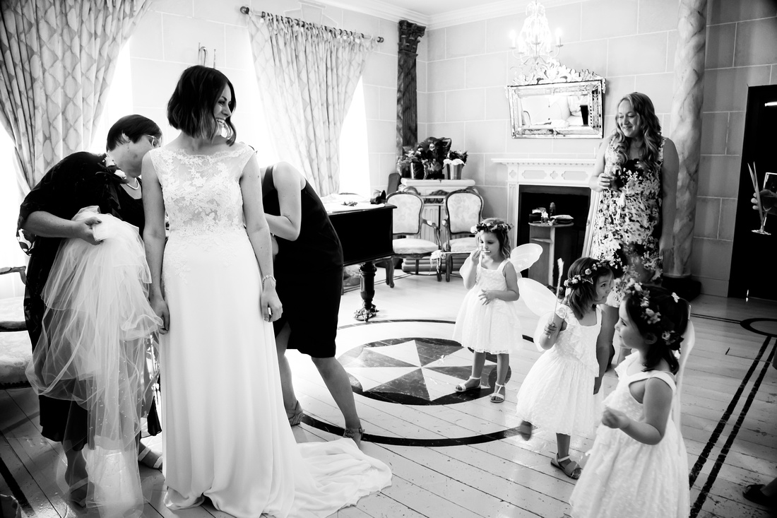 Emma and Gareth's Wedding at Trevor Manor with Celynnen Photography