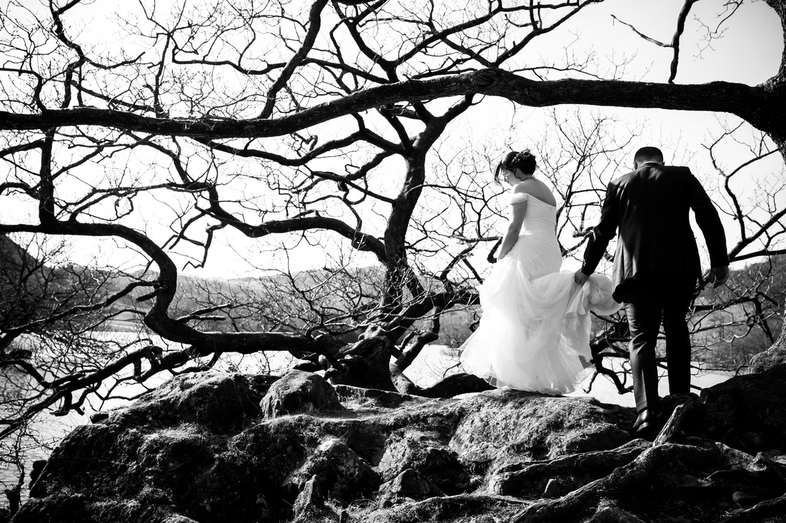 Kirsty and Lloyd's Wedding in The Lake District with Celynnen Photography