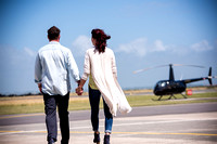 Mandy and Gareth's portrait session at Caernarfon Airport with Celynnen Photography.