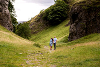 Kirsty and Lloyd's Pre Wedding Shoot in Castleton, with Celynnen Photography
