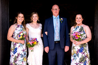 Ben and Iola's Wedding at the Village Hall in Clawdnewydd