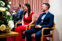 Philippa and Mike's Marriage Ceremony at Chester Register Office with Celynnen Photography