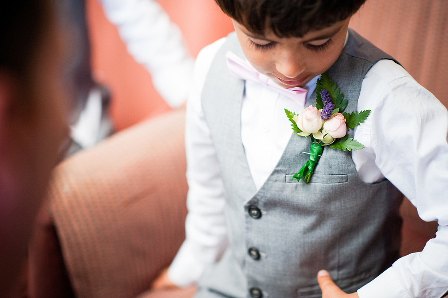 Young boy at a wedding in Anglesey, by Celynnen photography.