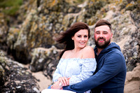 Rachel and Karl's Pre Wedding Shoot in Aberfraw with Celynnen Photography