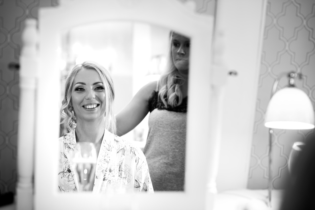 Katie and Paul's Wedding at Soughton Hall with Celynnen Photography