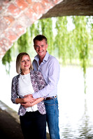 Patrick and Alison's Pre Wedding Shoot in The Canal Museum in Stoke Bruerne, with Celynnen Photography