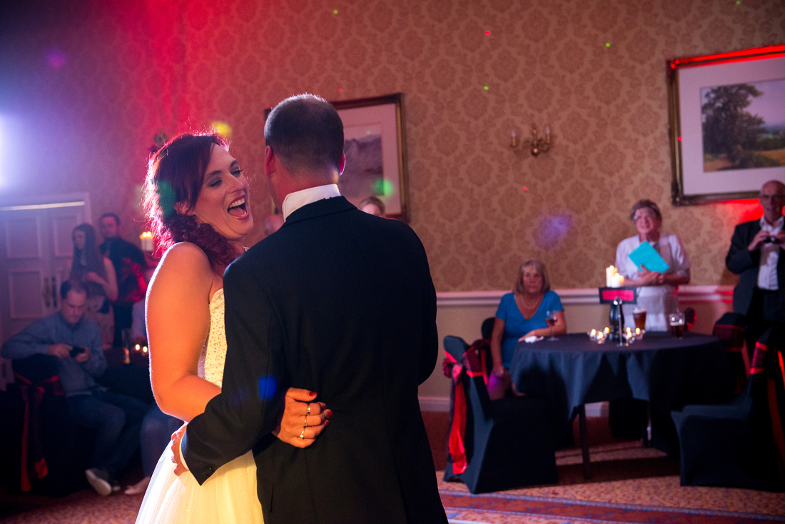 Charlotte and David's Wedding at Shrigley Hall in Macclesfield, with Celynnen Photography.