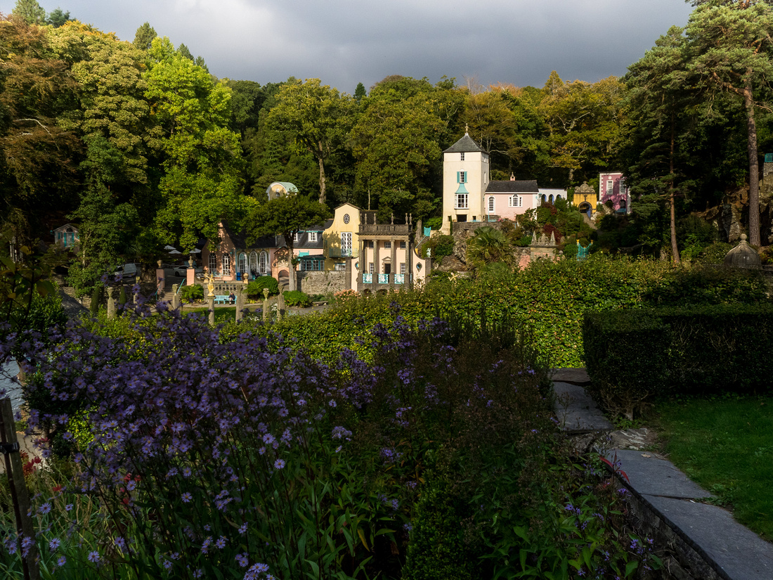 A photo of some of the scenery around Portmeirion from a wedding day.