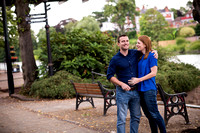 Laura and Ed's Pre Wedding Shoot in Chester