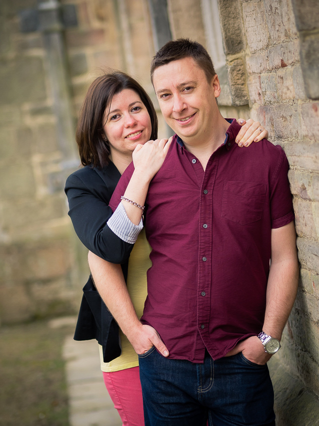Photograph of Katharine & Matt on their Pre Wedding Shoot at Lyme Park, photographed by Celynnen Photography.