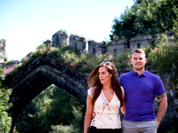 Mari and Matthew's Pre Wedding Shoot in Conwy with Celynnen Photography