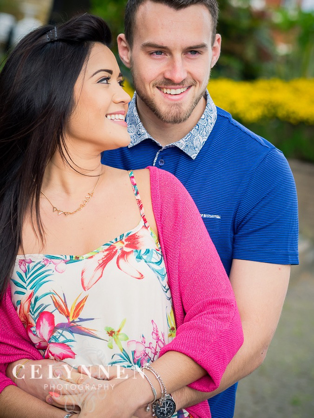 Celynnen Photography. Pre Wedding Shoot. Photographed in Grosvenor Park, Chester